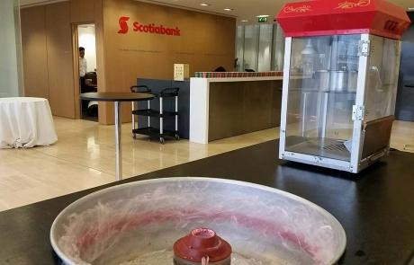 ScotiaBank Candy Floss Machine