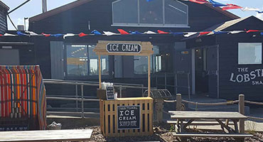 Ice Cream Stand for Hire