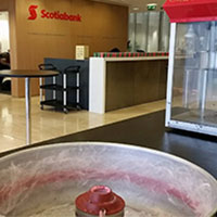 ScotiaBank Candy Floss Machine