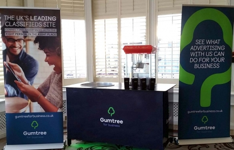 Gumtree Branded Stand