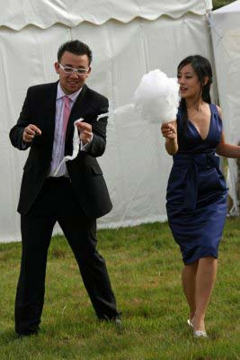 Wedding Candy floss