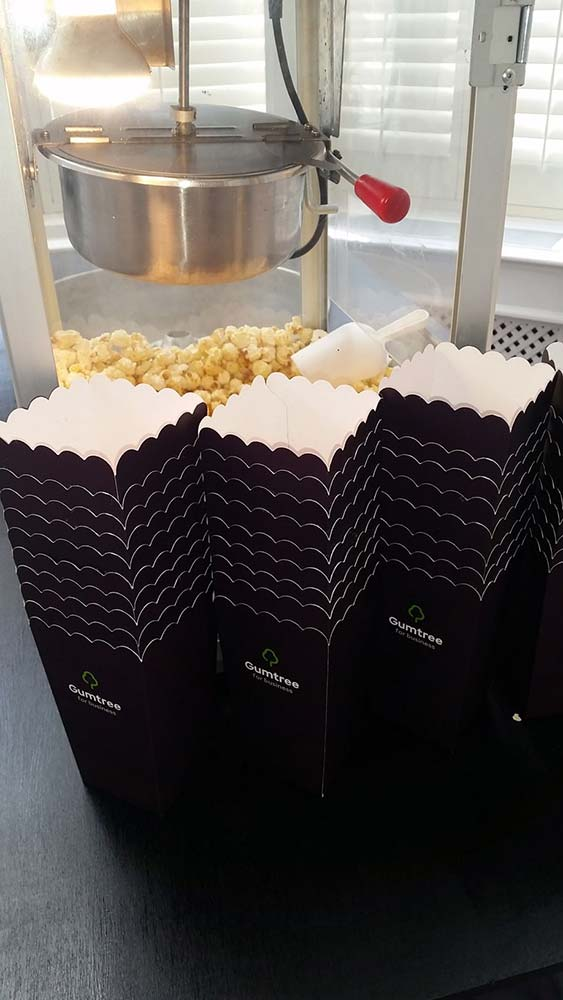 gumtree custom popcorn